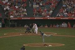 Mike Trout sinks the Mariners (The World Famous Andrew of the Jungle) Tags: california seattle mike canon los baseball angeles stadium may angels mariners trout anaheim 2013 60d