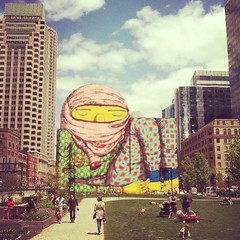 Os Gemeos (Peter Bekke) Tags: boston os gemeos