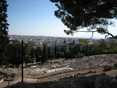 119 - Theatre of Dionysos from top (Scott Shetrone) Tags: other events places athens parthenon greece monuments acropolis 5th anniversaries
