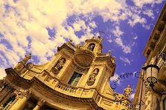 Nuvole barocche... (Peppis) Tags: nikon chiesa sicily hdr catania sicilia barocco peppis siciliainhdr nikond7000 nikonclubit