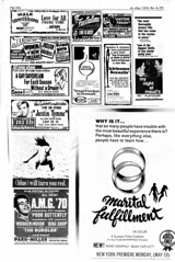 Adult Movie Ads, Straight/Gay, NYC - 1970 (BudCat14/Ross) Tags: newyork porn gayporn adultmovies vintageads foreignfilms manuitchezmaud straightporn iamcurious vintagemovietheaters