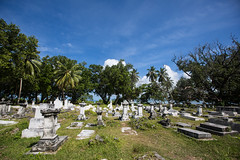 Old cemetery - La Digue island (dataichi) Tags: ocean travel tourism cemetery island indian tomb destination canon5d seychelles indien sechelles