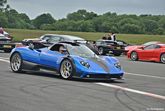 One of a kind - Pagani Zonda PS (CA Photography2012) Tags: park ca test car track power top gear automotive ps peter event f supercar zonda dunsfold aerodrome v12 pagani the saywell hypercar photography2012
