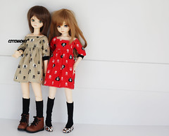 new dress! (wave:)) Tags: ball dami dolls olive bjd joint msd bluefairy elfdoll