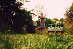 Summer! (*Vindaloo*) Tags: park summer selfportrait jump jumping jfdi gin gordons challenge45 hpad2013 hpad120713