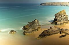 Bedruthan Steps (Ken & Rose Farge 500k+ views. Thank you) Tags: uk longexposure beach canon eos seaside cornwall cove westcountry bedruthansteps digitalcameraclub 60d