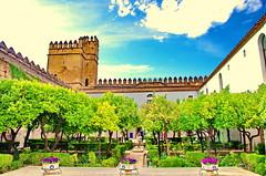 Cordoue - Crdoba 127 les jardins de l'Alczar (paspog) Tags: gardens spain andalucia andalusia crdoba espagne jardines jardins spanien andalousie alczar cordoue