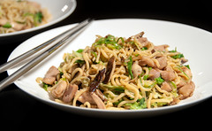 Chicken Lo Mein (The_Little_GSP) Tags: food chicken dinner recipe chinese noodles lomein