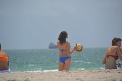 DSC_0551 (FashionbyHe) Tags: ocean street girls summer beach highheels miami bikini heels bikinis fashionweek voyuer streetstyle miaimi swimweek