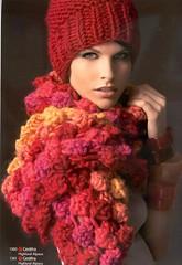 Gefrida210_03 (Homair) Tags: wool hat scarf fuzzy chunky combo gedifra