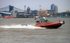 FDNY Marine 8 (MJ_100) Tags: city nyc usa newyork america bay harbor boat us marine state harbour 8 vessel company fdny firedepartment fireboat marine8