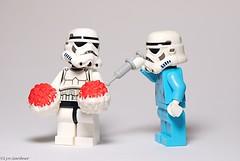 Antidote (LynG67) Tags: lego syringe stormtrooper nurse minifigs cheerleader minifigures