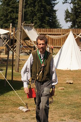"""Brigade Days (Tjflex2) Tags: canada men history children clothing women bc fort 19thcentury skills historical dressed fortlangley settlement oldfashioned it"""" brigadedays canvastents """"roughing"""