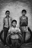 Kids (Karthi KN Raveendiran) Tags: portrait people playing kids shapes chennai tyre kanchi cwc kancheepuram indiankid playingkids chennaiweekendclickers