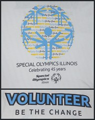 Project 365 - Day 230 (aliciaclaire16) Tags: blue white black macro yellow collage shirt typography words back illinois nikon tshirt front tennis volunteer specialolympics project365 2013