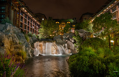 The Wilderness Lodge (mwjw) Tags: wilderness lodge disney disneyworld long exposure night shot mwjw mark walter nikon d7000 hi is