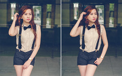 escape_10 (joms-allsunday) Tags: portrait asian nikon pretty philippines bowtie portraiture filipina suspenders quezoncity prettyface outdoorportrait incognitophotoworks