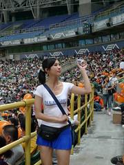 P1000710 (celeste_mer) Tags: 棒球 2009年 高雄棒球場