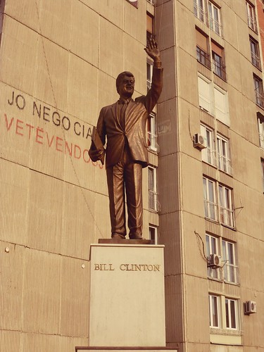 Statue de Bill Clinton, Pristina, Kosovo