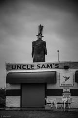 uncle sams (Jen MacNeill) Tags: usa abandoned statue mi america us closed sam fireworks michigan uncle americana roadside sams attraction rte23 ottawalake jennifermacneilltraylor jmacneilltraylor jennifermacneill jennifermacneillphotography