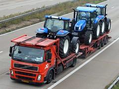 Volvo BS TZ 07 - De Rooy (gylesnikki) Tags: orange truck kent artic m20 rigid drawbar derooy
