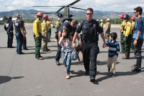 Photo - Flood Evacuation Support 2013