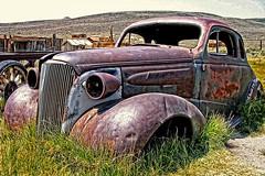 Vintage Car (npphotog) Tags: mammoth ghosttown bodie highsierras miningtown bodieghosttown cahighway395 castatehistoricpark