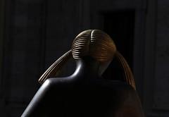 Controluce (Mattia Camellini) Tags: italy sculpture art bronze italia arte 100mm blonde manualfocus controluce scultura profilo bronzo montecatiniterme primelens manuallens russianlens sovietlens nikonmount canoneos7d canon7d mattiacamellini kaleinar5n28100 kaleinar28100mm