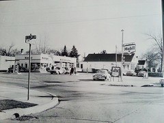 Colvin  ave and washington ave albany ny 1950s Mobil gas station (albany group archive) Tags: albany ny colvin ave washington 1950s mobil gas service station oldalbany history old photos vintage photographs historic historical