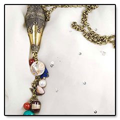 """Gold-Bead-Necklace • <a style=""""font-size:0.8em;"""" href=""""http://www.flickr.com/photos/11654903@N04/10634884876/"""" target=""""_blank"""">View on Flickr</a>"""
