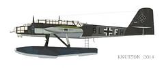 He115    8 L + F H   wrk nr 2398   Ku.Fl Gr 906   Sola Zee (flyhistorie) Tags: luftwaffe bham 3298 hafsfjord flymuseum he115 flyhistoriskmuseumsola orginalcolors