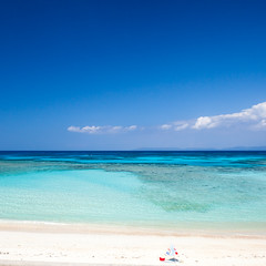 HATERUMA 2013 #40 (kobaken++) Tags: ocean light sea summer sky coral canon eos crystal wide wave 5d okinawa      markii   mark2