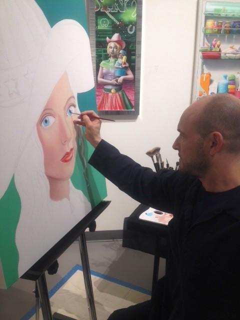 'Bourg to 'Burg Artist Visit