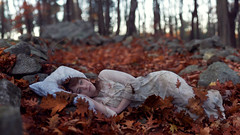lost hierlooms (Kelsey Elinor) Tags: autumn portrait fall leaves ruins fineart 365 heirlooms conceptual relics 365days vision:outdoor=0919 vision:sky=0547