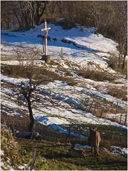 Christ en croix au Thyl
