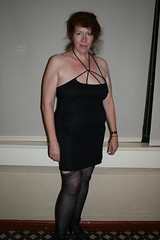 2012-10-06 22.55.27 (grail76) Tags: woman stockings girl arms legs skirt shoulders cleavage