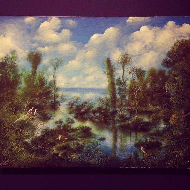 "Chenier Tangoa Murrieta ""Usko Ayar"" • ""La escuela de las Visiones"" #art #arteenlima #artinlima #arte #artist #artista #painting #pintura"