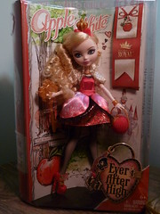 Apple White (jaqio) Tags: white apple high doll after ever mattel