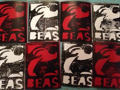 Felix by BEAS (ANEWstreetart) Tags: street art sticker felix handmade vinyl slap beas anew uploaded:by=flickrmobile flickriosapp:filter=nofilter anewstickerexchange beasmtl