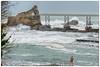 1er Partie : La preparation - Les ours blancs - Digue de la plage du vieux port - Biarritz - Côte Basque (TIAREE64) Tags: les port la plage blanc rocher biarritz vieux association ours digue vierge flickrstruereflection1 flickrstruereflection2
