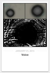 Voice (veryslowtimetraveler) Tags: cameraphone light sun sunlight white abstract black face collage altered mouth vent grey eyes triptych song expression gray voice announcement sing scream flare linocut express panels 365 speech loud yell collect speak app lungs apps pictureaday announce iphone pronounce pencilpaint iphonography iphoneography 02014 fxphotostudio