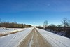 Long Cold Road - Other Way (Cory Pchajek) Tags: canada landscape sony manitoba alpha99 sal20f28