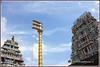 3810 - Sri Adi Kesava Perumal Temple and Bhasyakar Temple , Sriperumpudur (chandrasekaran a 50 lakhs views Thanks to all.) Tags: india art vishnu gopurams sriramanuja dwajastambam vaishnavites canon60d sriperumpudur templesarchitecturesscuptures