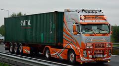 NL - John vd Made Volvo FH GL02 (BonsaiTruck) Tags: john volvo made camion trucks airbrush lorries lkw gl02