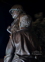 Veterans Memorial at Bedford County Courthouse (lynn roebuck photography) Tags: nightphotography statue bronze memorial tn tennessee military tenn timeexposure afterdark veteransmemorial veteransmemorialplaza shelbyvilletennessee lynnroebuck bedfordcountytennessee midtenn bedfordcountytncourthouse tennesseeveteransmemorials veteransmemorialatbedfordcountycourthouse