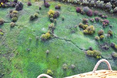 (Osyam-osyam) Tags: autumn color green fall nature field high view balloon flight bushes