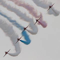 Red Arrows (Frank van Eck) Tags: thenetherlands redarrows raf volkel northbrabant odiliapeel luchtmachtdagen2013
