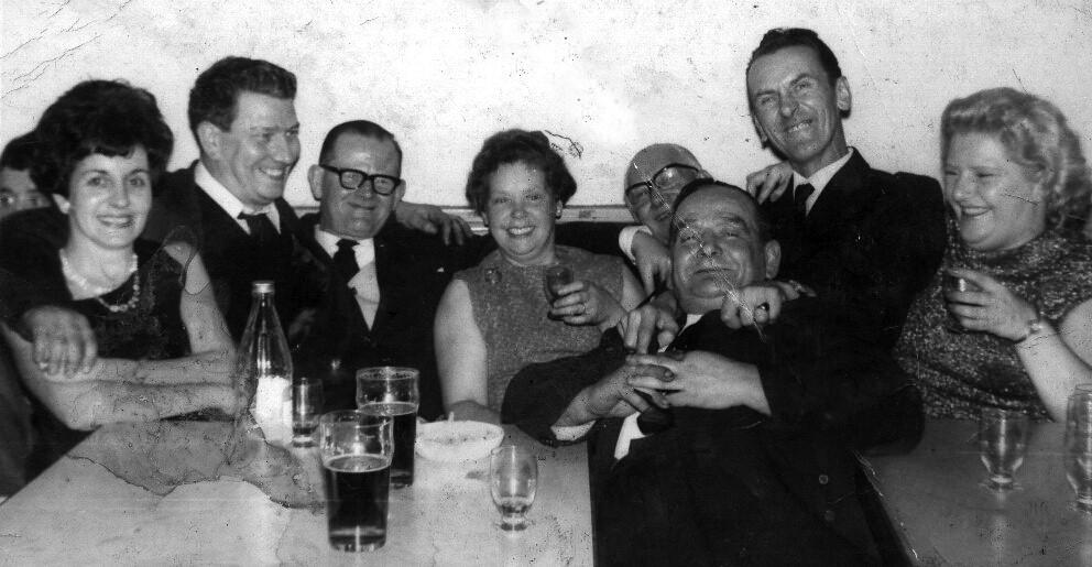 Dick Callanan Fireman's Club 1960s