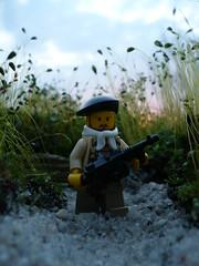 Trench Raider (Rebla) Tags: world 2 war lego wwii trench ww2 raider