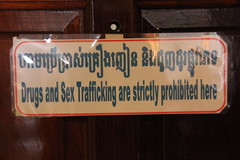 "Sign on the back of our hotel room <a style=""margin-left:10px; font-size:0.8em;"" href=""http://www.flickr.com/photos/46768627@N07/13295642803/"" target=""_blank"">@flickr</a>"